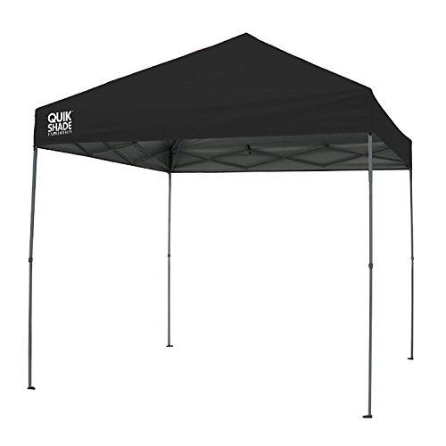 Quik Shade Expedition 10 x 10-Foot Instant Canopy, Straight Leg Outdoor Tent, 100 Square Feet of Shade for 8-12 People - ()