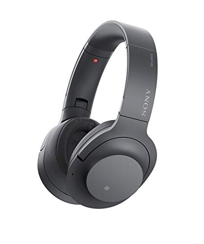Sony WH-H900N h.Ear on 2 Wireless Over-Ear Noise Cancelling High Resolution Headphones Black Grey Renewed