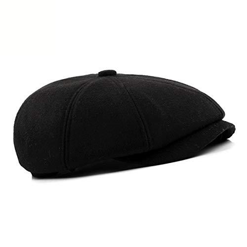 Invierno Boina el la qin de GLLH Sombreros de Avanzada tamaño hacia Hombres Tapa Edad Casquillo de auditiva e la la Gran Manera de de protección Sombrero B B Sombreros hat adelante en otoño la q4OwdxYO