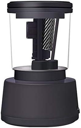 電動鉛筆削りき USB多機能削りエレクトリックプロフェッショナルスケッチ鉛筆削りベストキッズオフィス教室アーティスト電気鉛筆削り (Color : Black, Size : 9.3x9.3x14.5cm)