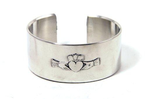 Irish Celtic Cuff Bracelet - 9
