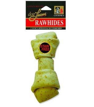 Doglicious Rawhide 6-7″ Peanut Butter Flvd. Bone-Dog Treats RESEALABLE BAG! Review