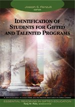 By Joseph S. Renzulli - Identification of Students for Gifted and Talented Programs, Volume 2 (Essential Readings in Gifted Education): 1st (first) Edition