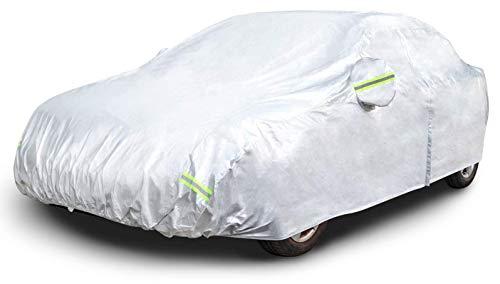 🥇 AmazonBasics – Funda resistente a la intemperie para vehículo