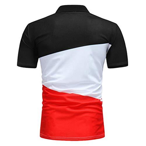 shirt Jerfer T La Manches Tricoté Décontracté À Automne Manteau Courtes Noir Hiver Mode Cardigan Homme zqzZwr