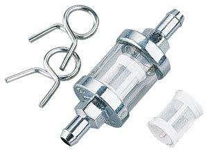Biker's Choice Clear-View Glass Fuel Filter (1/4