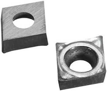 PIKA PIKA QIO 10pcs Karbid-Einsätze CCGT09T302-AK H01 for SCLCR/SCFCR Turning-Halter-Werkzeug Drehwerkzeuge
