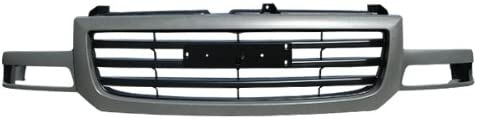 OE Replacement GMC Sierra Pickup Grille Assembly Partslink Number GM1200476