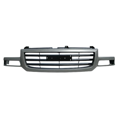 Grille Front Gray Black Assembly Gm1200476 15773418 ()
