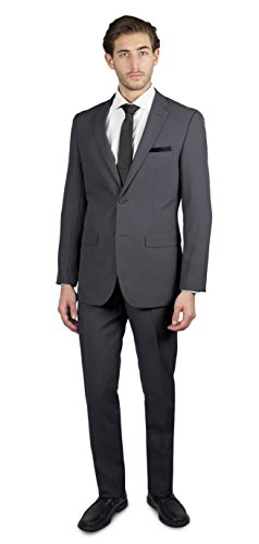 Alain Dupetit Men's Two Button Suit in Many colors