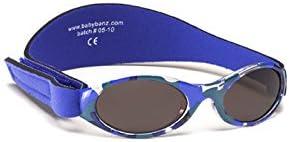 KidzBanz Occhiali da sole per bambini Baby Mimetico Blu
