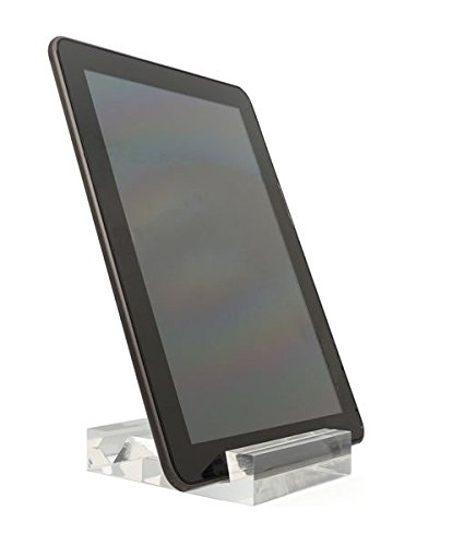 SourceOne Premium iPad Stand/Tablet Holder - Thick Crystal Clear Acrylic