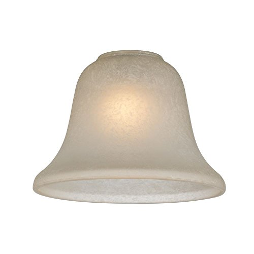 Caramelized Traditional Bell Glass Shade - 1-5/8-Inch Fitter