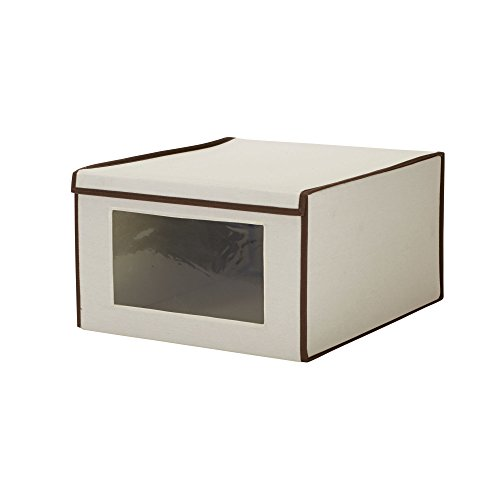 Household Essentials 504 Drop Front Vision Storage Box, Jumbo, X-Large