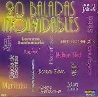 20 BALADAS INOLVIDABLES