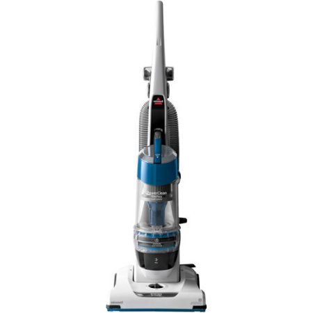 Bissell Powerclean One Dated Bagless Upright Vacuum with Multi-Cyclonic Suction and Multiple Upholstery Attachments