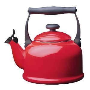Le Creuset Tea Kettle, Chili Red