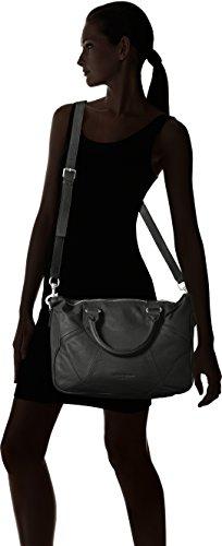 Liebeskind Berlin Esther Am Vintag - Shoppers y bolsos de hombro Mujer Negro (Black)