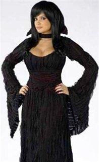 Adult Graveyard Vampiress Costume