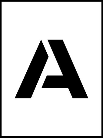 NMC PMC36-A 36''Stencil Letter ''A'', Pack of 5 pcs by National Marker