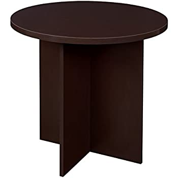 Amazoncom Niche Mod Round Table Truffle Kitchen Dining - 30 conference table