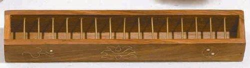 Tibetan Lattice Wire Box Incense Burner - Inlaid Designs