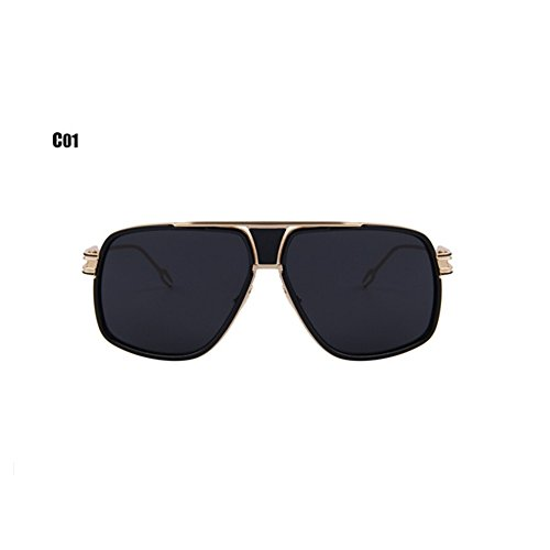 6ea7ab064a4 Men s Sunglasses Vintage Big Frame Goggle Summer Style Brand Design  Steampunk Sun Glasses UV400 lovely