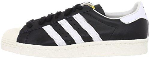 white Noir Superstar 80s Homme 1 Adidas Chaussures 2 black De chalk Gymnastique x7fSzqnwa
