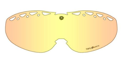 Triple 9 Optics Replacement Lens for Swank Snow Goggles - Clear SKG-75 LENS CLR by Triple Eight
