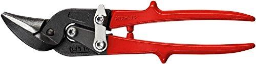 Bessey Cutting Snips Robust D17ASSL Left Cutting, Silver/Red