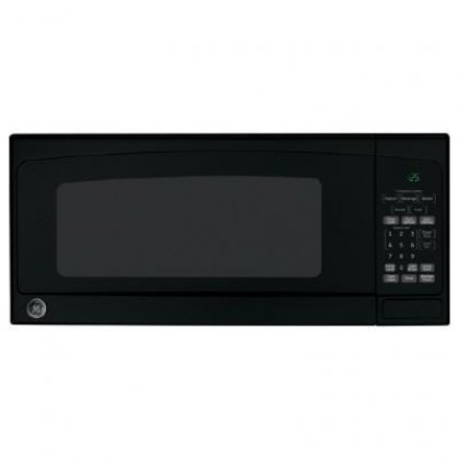 Ge - Profile Series 1.1 Cu. Ft. Mid-size Microwave - Black-o