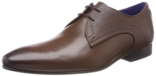 Ted Baker Mens Brown Leather Peair Shoes-UK - Stockist Ted Baker