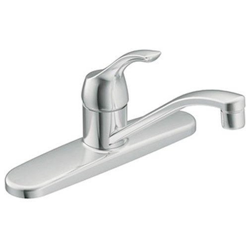 Moen CA87526 Kitchen Faucet with Off-Board Side Spray from the Muirfield Collection, Chrome