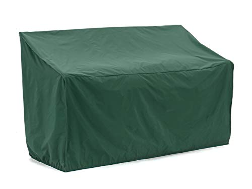 Covermates - Outdoor Patio Loveseat Cover - 52W x 32D x 34H - Classic Collection - 2 YR Warranty - Year Around Protection - Green