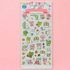Office Decoration Cute Stickers - Sheet Cute Frog