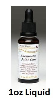 Newton Labs Homeopathics Remedy Rheumatic & Joint Care 1oz Liquid