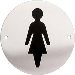Amazon.com: iGadgitz Home U7030 - Aluminium WC Sign, Toilet ...