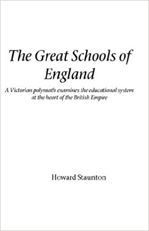 Téléchargement du livre électronique GoogleThe Great Schools of England (Victorian Polymath Examines the Educational System at the He) 1843820137 FB2