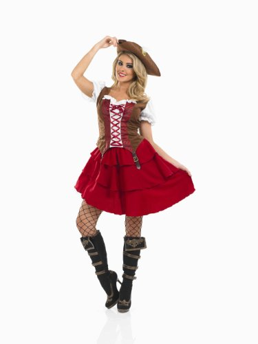 Pirate Deck Hand Small Girls & Ladies Fancy Dress ()