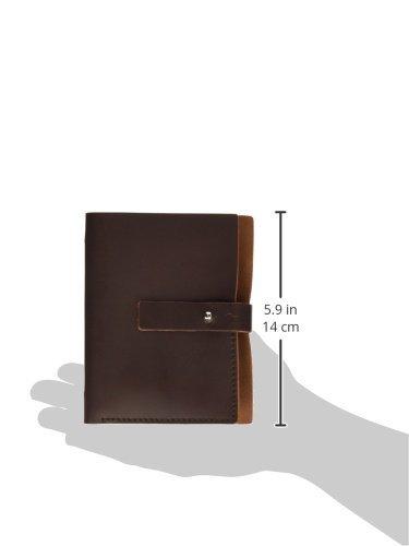 Makro Paper S5 - Agenda de piel pequeña, marrón oscuro ...