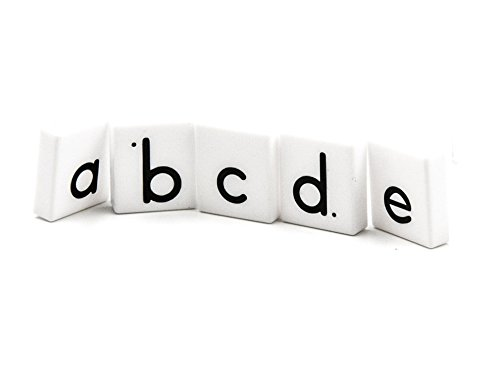 Word Families Magnetic Tiles - ETA hand2mind Plastic Lowercase Alphabet Letter Tiles (Set of 278)