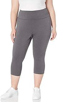 Amazon Essentials Women's Plus Size Performance High-Rise Capri Leg