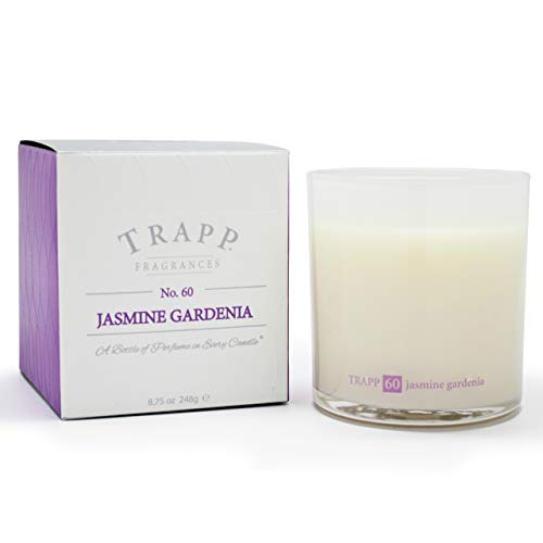 Trapp Ambiance Collection No. 60 Jasmine Gardenia Poured Scented Candle, 8.75-Ounces