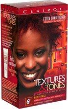Clairol Профессиональные текстуры и мелодии Постоянный Цвет волос, Ruby Ярость