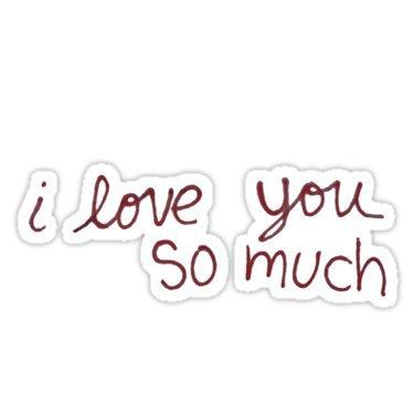 "Austin's ""I love you so much"" – Sticker Graphic Bumper Window Sicker Decal – Gay Pride Sticker – Go4CarZ Store"
