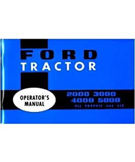 Ford shop manual series 2000 30004000 1975 i t shopservice 1955 1960 ford tractor 2000 3000 4000 5000 owners manual fandeluxe Image collections