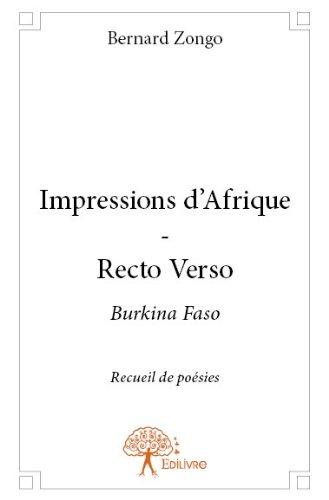 Impressions d'Afrique - Recto Verso