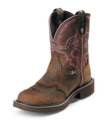 Justin Boots Women's Gypsy Collection 12'' Soft Toe (8.5 B, Aged Bark)
