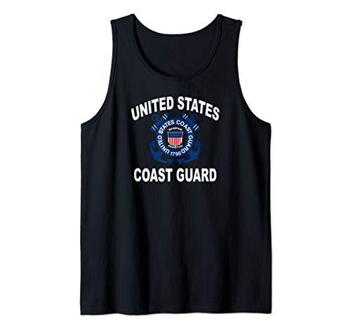 (US Coast Guard (USCG) Alumni Men and Women Tank Top)