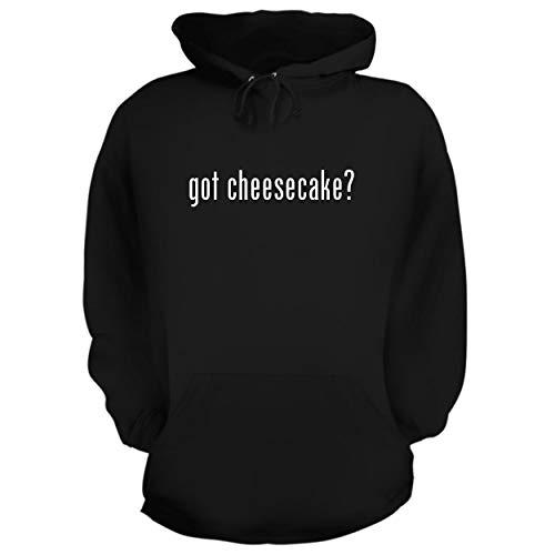 BH Cool Designs got Cheesecake? - Graphic Hoodie Sweatshirt, Black, Medium